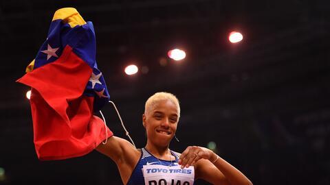 La venezolana revalidó el oro conseguido hace dos años en...