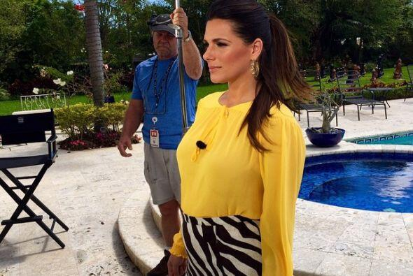 Así visitó la Mansión de Nuestra Belleza Latina, ¡súper guapa!