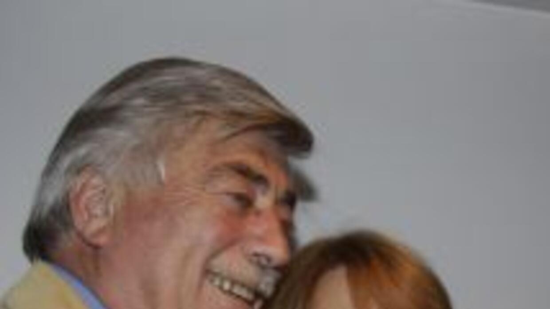 El gobernador argentino Carlos Soria y su esposa Susana Freydoz.