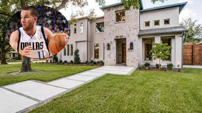 """Mira la """"casita"""" de JJ Barea en Dallas"""