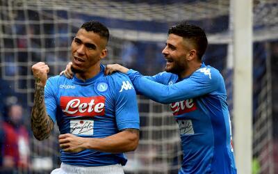 El brasileño Allan le dio tres puntos al Nápoles para mant...