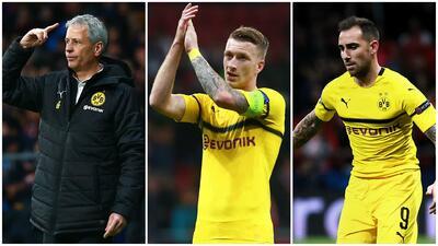 El renacer del Borussia tiene tres nombres: Lucien Favre, Marco Reus y Paco Alcácer