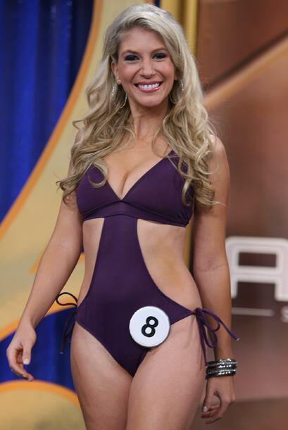 Brasil trajo su sabor brasilero a la final del Miss República Deportiva.