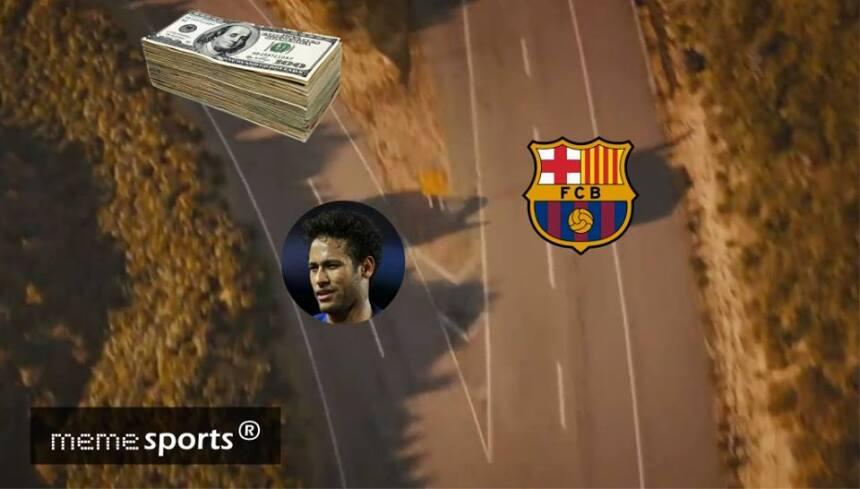 En memes: Neymar se inclina por los millones del PSG 20375874_1953493614...