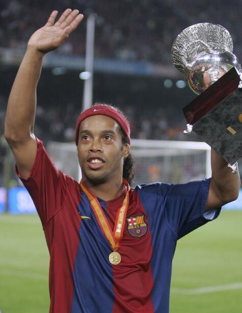 ¿El nuevo Ronaldinho?, Barcelona ficha a la actual joya del Gremio ap-06...