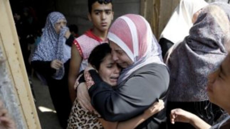 La muerte de 600 palestinos ante los ataques de Israel ha sido condenada...