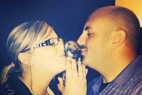 La veterinaria aseguró que se enamoró de él en cuanto lo vio.