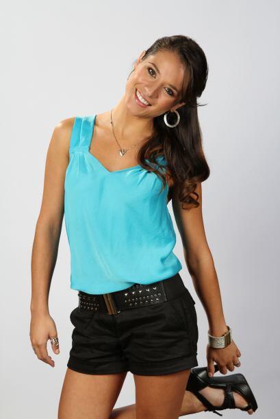 Ayelene Magrini es argentina y audicionó en Los Angeles. Sus patines son...