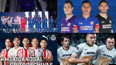 En fotos: Conoce los jerseys de los equipos de la Liga MX para la temporada 2018-2019