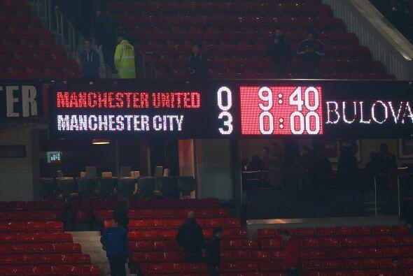 Manchester City hila tres triunfos en Old Trafford promediando casi cuat...