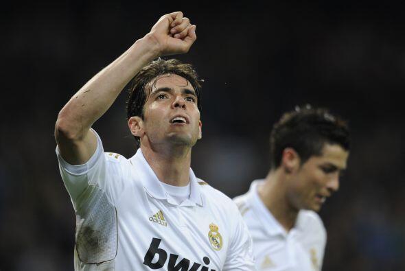 A pesar de los problemas que ha tenido Kaká con el Madrid, el fut...