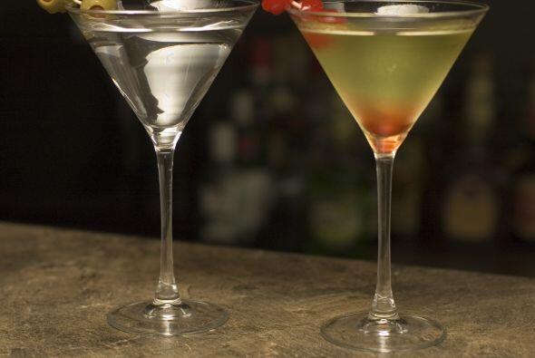 Celebra esa promoción en el trabajo con un delicioso 'Martini'