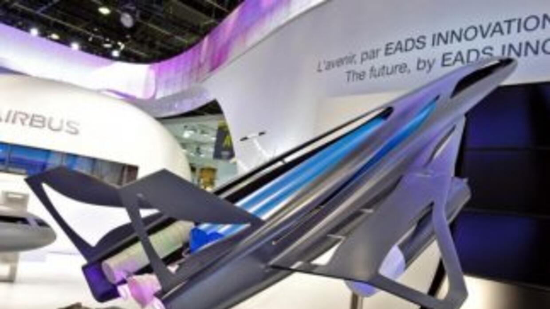 El moderno avión que volará a velocidades supersónicas.