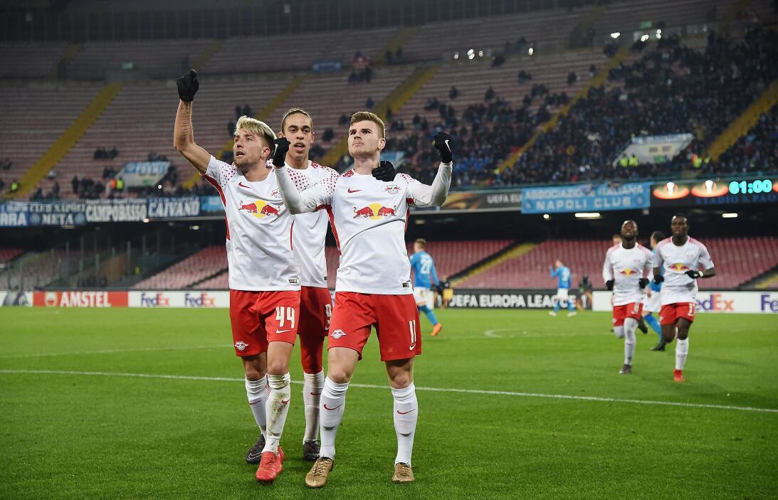 Napoli 1-3 RB Leipzig: sorpresiva caída del equipo italiano en San Paolo...