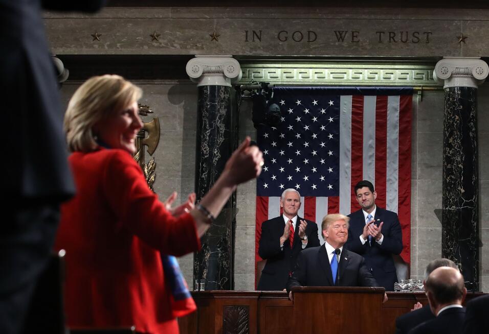 """""""Los estadounidenses también son soñadores"""", acotó..."""