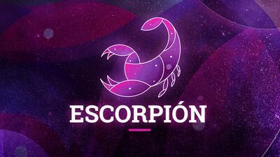 Escorpión - Semana del 13 al 19 de agosto