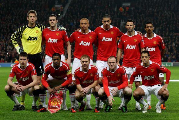 El Manchester United recibió al Olympique de Marsella en el choque de Vu...