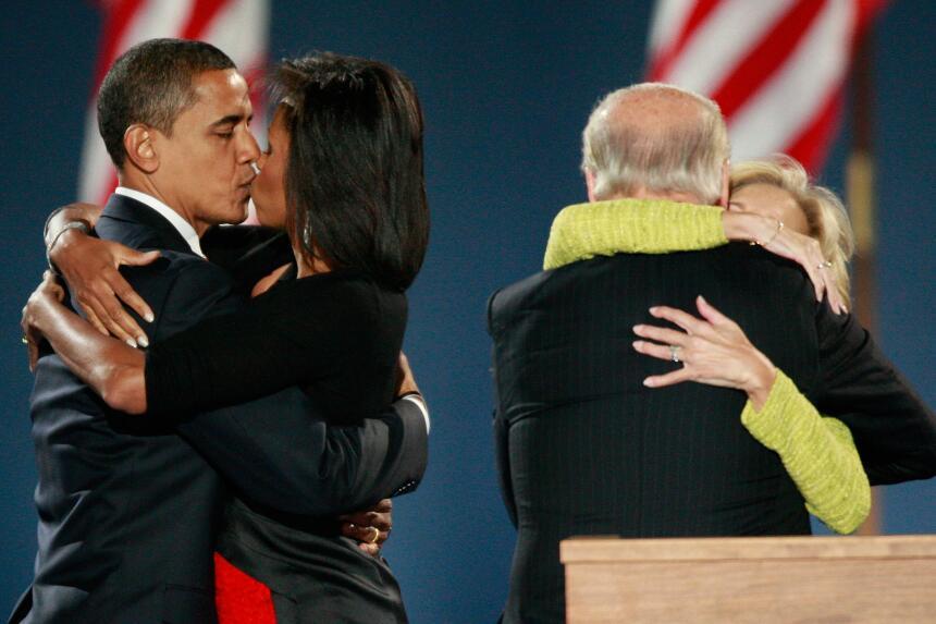 Michelle y Barack Obama: los amantes de la Casa Blanca GettyImages-83564...