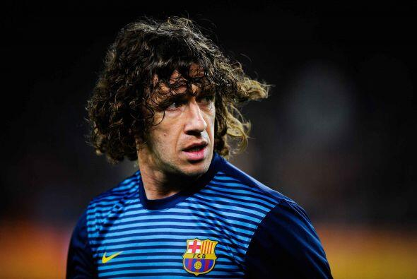 Carles Puyol:  El Barcelona era un equipo solvente atrás hasta que, hace...