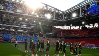 En fotos: Serbia y Brasil se juegan el boleto a octavos en Moscú