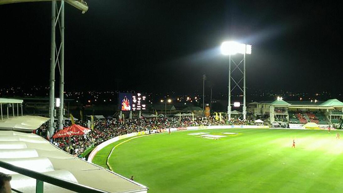 El Complejo Deportivo Parque Warner, en las islas caribeñas de San Crist...