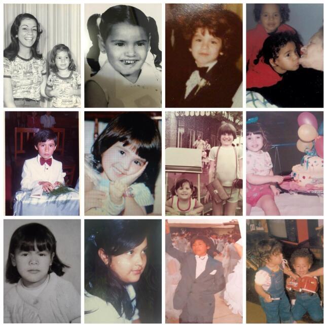 Collage de fotos de los Univision Chicago