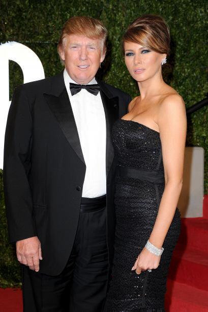 La guapísima modelo eslovena Melania Trump también cayó ante los encanto...