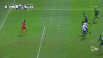 Rodríguez le puso el pecho a un 'riflazo'