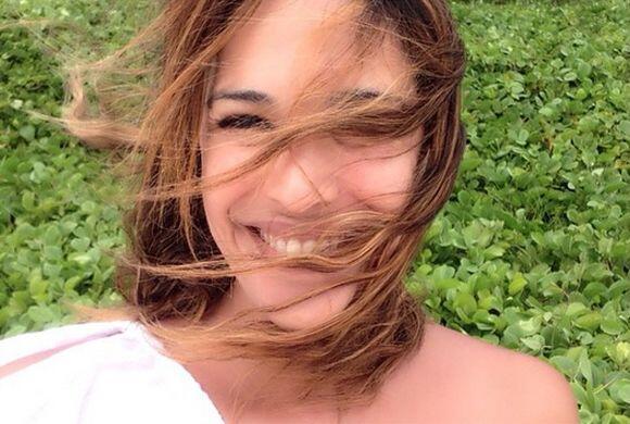 'Ríe y deja que el viento se lleve lo que te roba las sonrisas #mitierra...