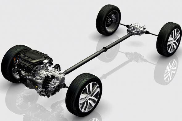 Esta mecánica se completa, con un sistema disponible de tracción en las...