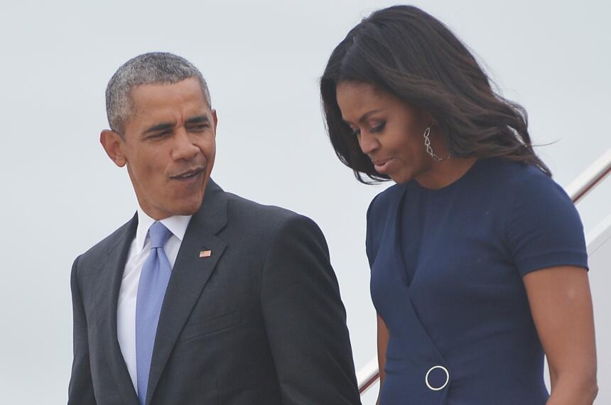 Michelle y Barack Obama: los amantes de la Casa Blanca GettyImages-49065...