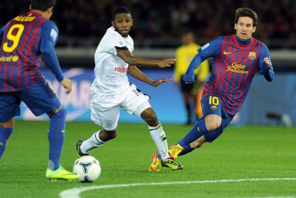 Messi y todos los barcelonistas hicieron lo esperado, ganaron y golearon.
