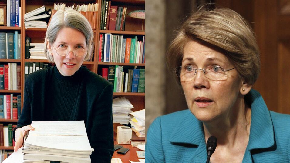 Foto antigua, como profesora de leyes en Harvard, en 2001. Foto actual,...