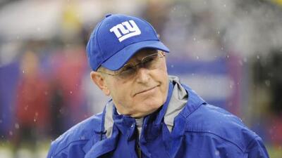 Tom Coughlin comandará a los Giants, a quienes ha llevado dos veces al c...