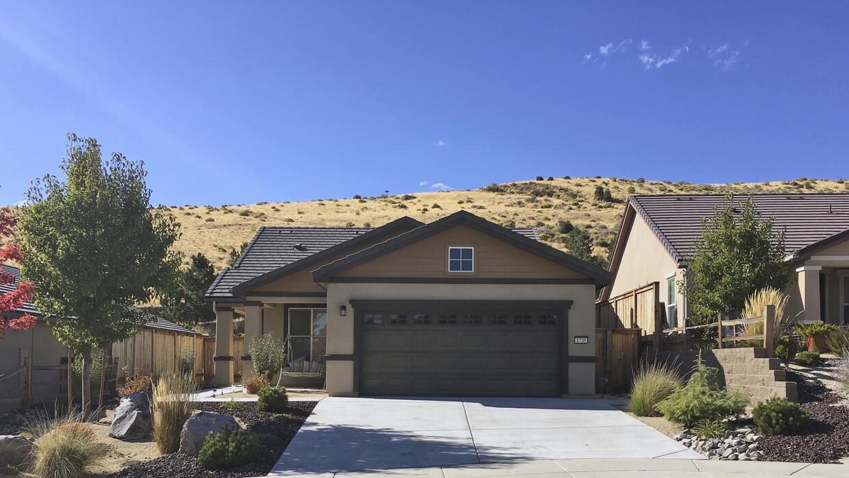 Stephen Paddock es dueño de esta casa en Reno, Nevada, una de las inspec...