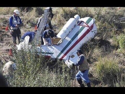 Lupillo y don Pedro Rivera graban videos en el sitio donde se estrelló e...