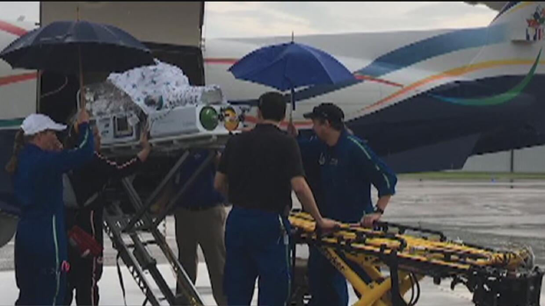 Trasladan a bebés del hospital de Corpus Christi a Fort Worth ante la ll...