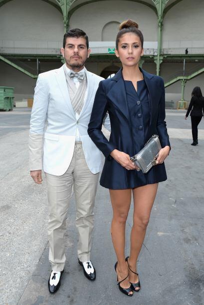 ¡Fiu, fiu! Para una segunda ocasión, Nina Dobrev estuvo acompañada de El...