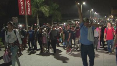 New group of migrants leaves for US from Honduras, unleashing wrath of President Trump