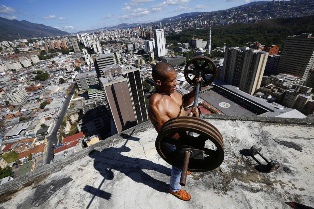 Outdoor gym Venezuela