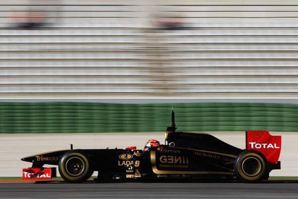 En 2010, Kubica terminó octavo de la clasificación general, con 136 punt...
