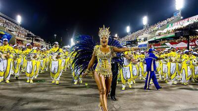 Este domingo empezó el carnaval en Río de Janeiro