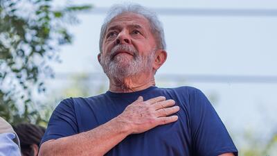 En pocas horas anulan la orden de liberar al expresidente de Brasil 'Lula' da Silva