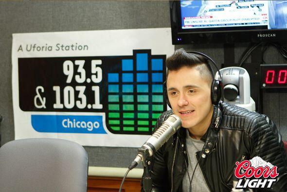 El cantante panameño en ascenso Joey Montana estuvo compartiendo con sus...