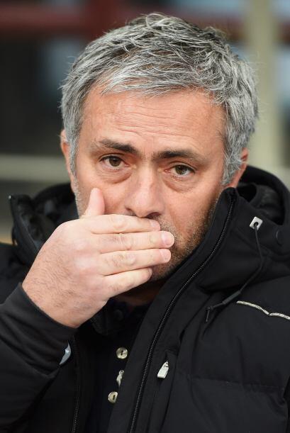 Antes del partido Mourinho parecía tener un secreto guardado.