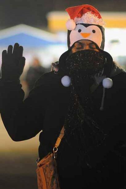 Los manifestantes tomaron las calles el miércoles por segunda noche cons...