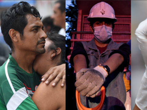 Así se les vio a los famosos apoyar o clamar por ayuda tras el terremoto...