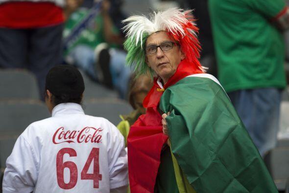 Los aficionados a la selección mexicana vivieron este día un emotivo hom...