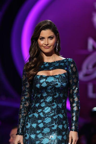 En la cuarta gala llevó un vestido diferente a todos los de esta tempora...