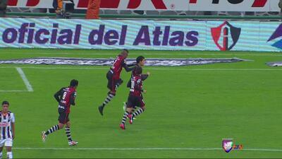 Atlas 2 – Monterrey 1: Partido movido para la victoria de Atlas